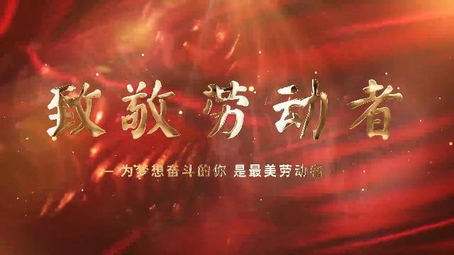 大气劳动节人物宣传视频6预览图