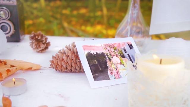 大树下清新唯美的婚礼相册8预览图